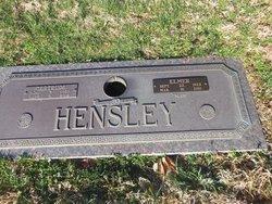 """Elmer """"Blue"""" Hensley"""