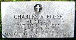 Charles August Bliese
