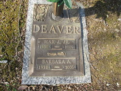 Barbara Anita <I>Little</I> Deaver