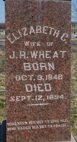 Elizabeth Catherine <I>Stump</I> Wheat