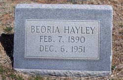 """Beoria """"Bea"""" <I>Tracy</I> Hayley"""