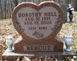 Dorothy Nell <I>Sherer</I> Bebout
