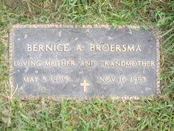 Bernice A. Broersma