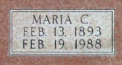 Maria Caroline <I>Wiese</I> Brabander