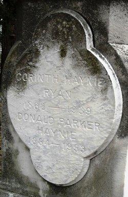 Corinth <I>Haynie</I> Ryan
