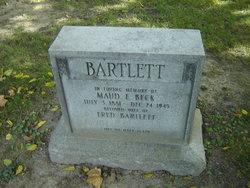 Maud Emily <I>Beck</I> Bartlett