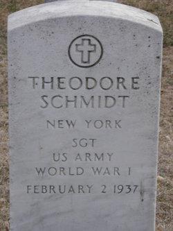 Theodore W Schmidt
