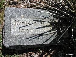 John Elwin Aldridge