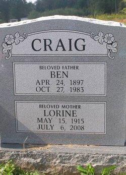 "Benjamin ""Ben"" Craig"