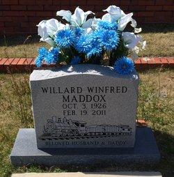 Willard Winfred Maddox