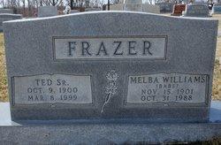 "Melba Irene ""Babe"" <I>Williams</I> Frazer"