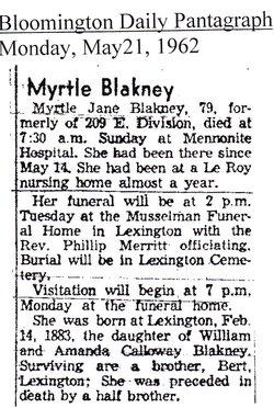 Myrtle Jane Blakney