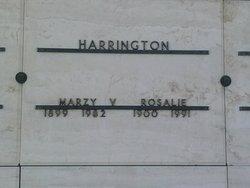 Marzy Van Harrington