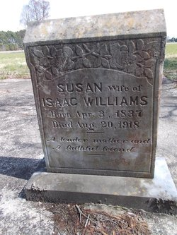 Susan <I>Spence</I> Williams