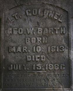 LTC George W Barth
