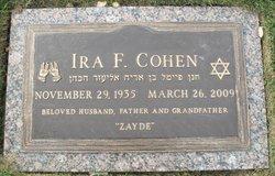 Ira F Cohen