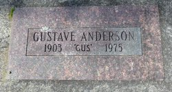 """Gustave """"Gus"""" Anderson"""
