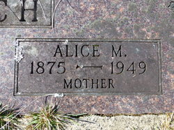 Alice Marie <I>Sullens</I> Church