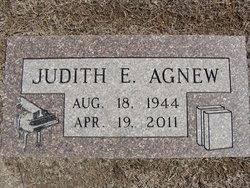 Judith Elaine <I>Armstrong</I> Agnew