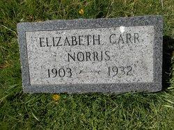 Elizabeth Mae <I>Carr</I> Norris