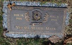 Velma Marie Meek