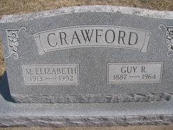 Mary Elizabeth <I>Adams</I> Crawford