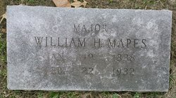 Maj William Henry Harrison Mapes