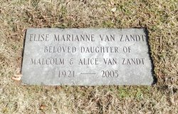 Elise Marianne Van Zandt