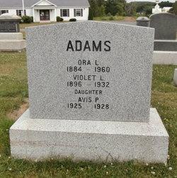 Ora Lester Adams, Sr