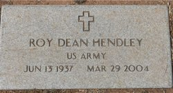 Roy Dean Hendley