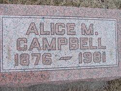 Alice Margaret <I>Richmond</I> Campbell