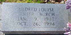 Mildred Louise <I>Carter</I> Burch