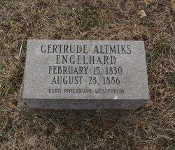 Gertrude Catherine <I>Altmiks</I> Engelhard