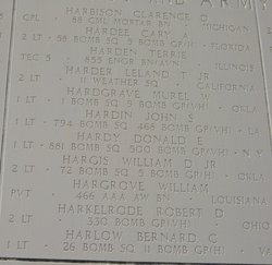 1Lt Bernard C Harlow