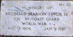 CPO Reginald Marion Finch, Sr