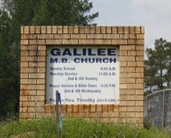 Galilee Missionary Baptist Church Cemetery