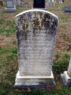 Mary Ann <I>Gibson</I> Jackson