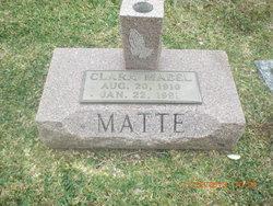 Clara Mabel Matte