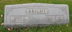 Rose Mary <I>Wyatt</I> Bright