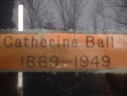 Catherine Evelyn <I>Lewis</I> Ball