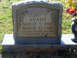 Clara Leona <I>Pickering</I> Adams
