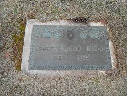 Ernest Franklin Brown