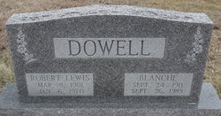 Robert Lewis Dowell