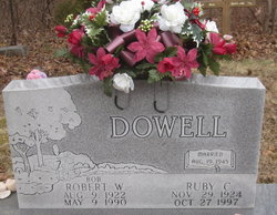 "Pvt Robert Wesley ""Bob"" Dowell"