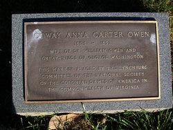 Otway Anna <I>Carter</I> Owen