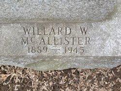 Willard Wareham McAllister