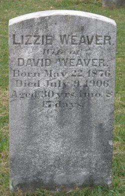 Lizzie Good <I>Wenger</I> Weaver
