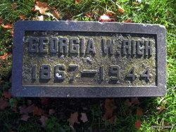 """Georgia Melissa """"Georgie"""" <I>Winship</I> Rich"""