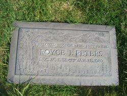 """Royce I """"Roy"""" Peters"""