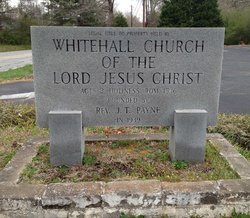 Whitehall Church of the Lord Jesus Christ Cemetery